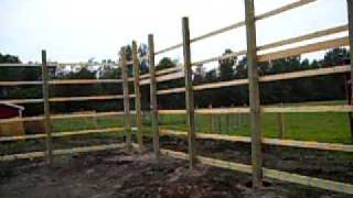 New Pole Barn Start Of Construction