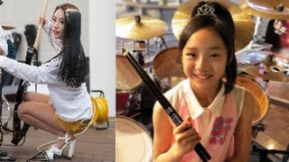 Top 5 Female  Drummers In the  WORLD IN 2016  According to YOU!  Our Subscribers!