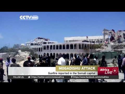 Large explosion reported near presidential palace Somalia