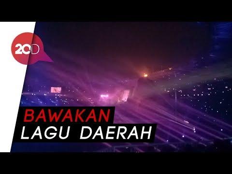 Pecah! Penampilan Para Penyanyi Di Pembukaan Asian Games