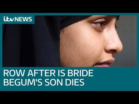 Sajid Javid criticised after IS bride Shamima Begum's baby boy dies | ITV News