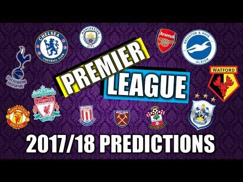 2017/18 PREMIER LEAGUE: Table Prediction