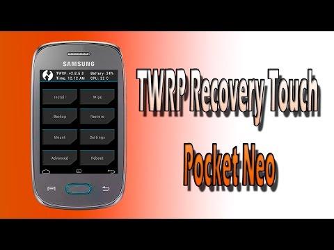 TWRP Recovery Para o Pocket Neo