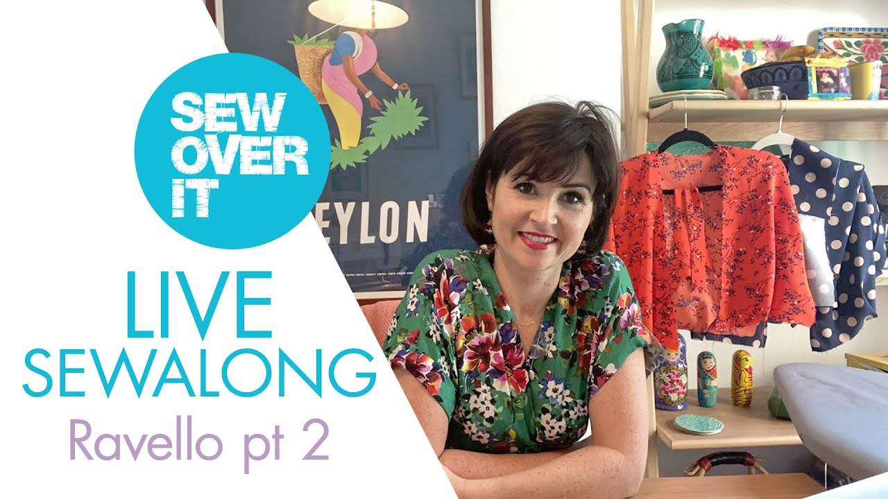 LIVE Stay Home and Sewalong: Ravello Dress pt 2
