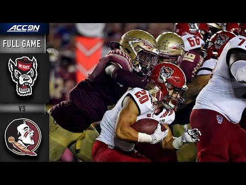 NC State vs. Florida State Full Game | 2019 ACC Football