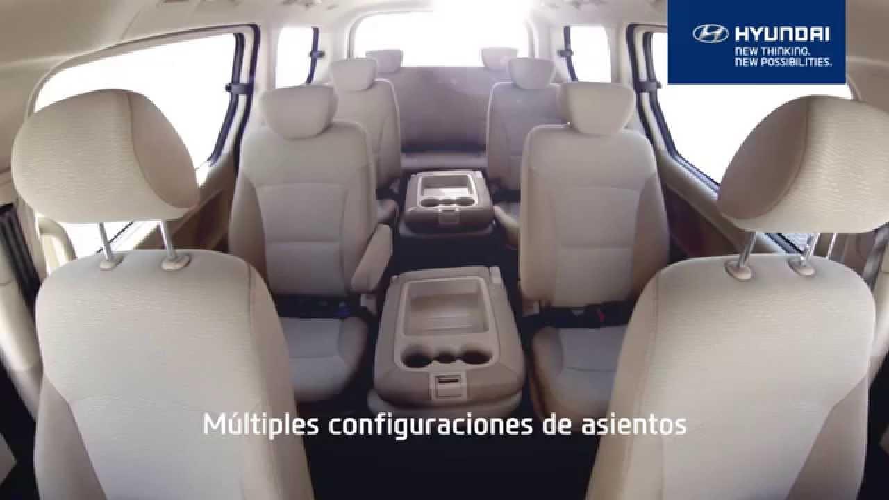 H1, múltiples configuraciones de asientos. - YouTube
