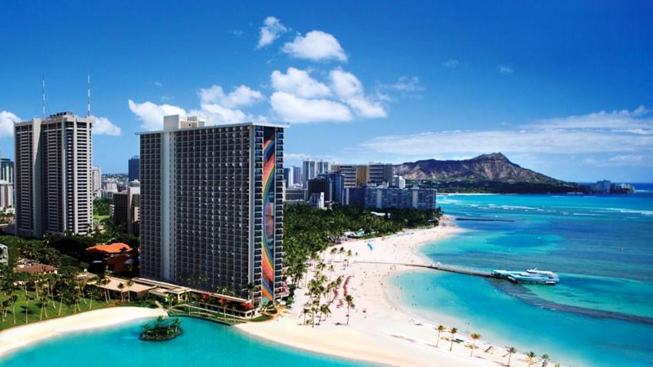 Hilton Hawaiian Village Waikiki Beach Resort Honolulu Hawaii Usa 4 Star Hotel