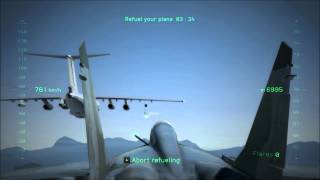 H.A.W.X 2 Gameplay + Testing new Logitech Attack 3 joystick (DX11)
