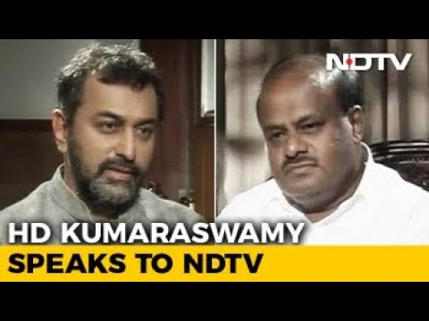 NDTV Exclusive: What Is 'Tearing' Karnataka Chief Minister Apart?