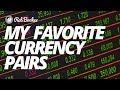 what are my favorite currency pairs?