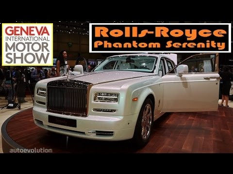 Rolls-Royce Phantom Serenity, live photos at 2015 Geneva Motor Show