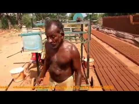 Brick making machine (hand bricks) manual tamilnadu
