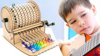 Шарманка своими руками! Конструктор для детей от Smartivity.