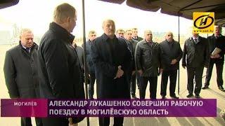 Александр Лукашенко совершил рабочую поездку в Могилёвскую область