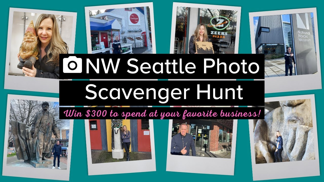 NW Seattle Photo Scavenger Hunt