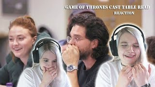 Game of Thrones Cast Season 8 Final Table Read REACTION