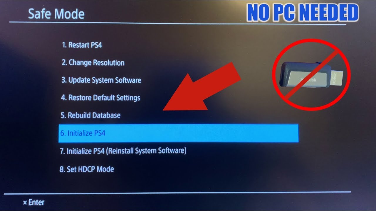 How To Reinstall Ps4 System Software Without Usb In 5 Easy Steps Youtube