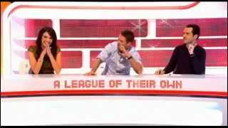 Freddie Flintoff singing Snooker Loopy - A League Of Their Own