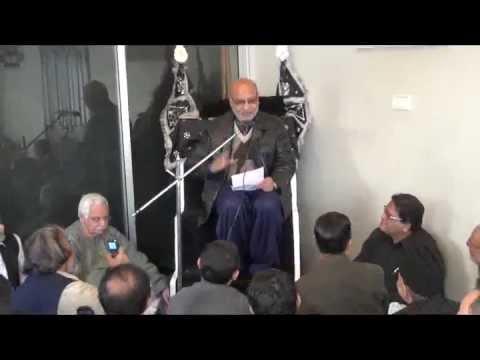 Salam By Mr. Naseem-ul-Hasan Zaidi Dated 08-01-2012 In Jadeed Marsia At Khakashan Karachi