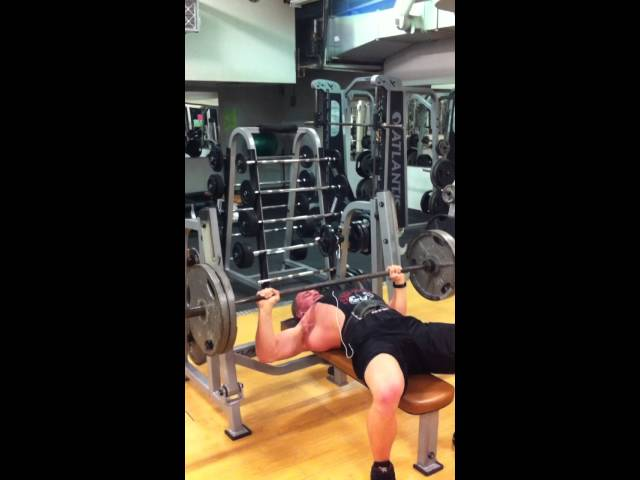 4 pause reps with 225 lbs on the bench press