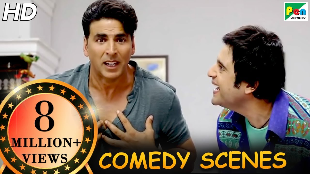 Download Akshay Kumar Comedy Scenes | Back To Back Comedy | Entertainment | Tamannaah Bhatia, Johnny Lever|HD