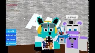 Roblox Fnaf World fnaf SL (Ft.F o x y•-• Club Penguin online pvp)