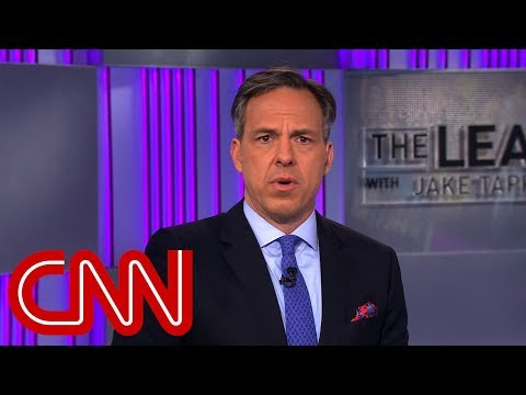 Jake Tapper: None of this is stable behavior