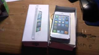 Papercraft iPhone 5 Unboxing