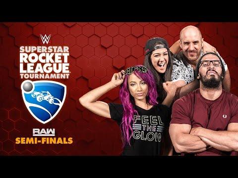 HUGGIN' UPPERCUTS (Bayley/Cesaro) Vs. NASHA (Sasha/Neville) — Rocket League Tournament Raw Semis
