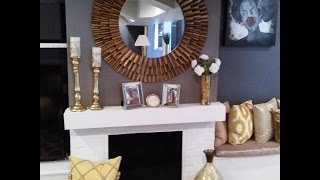 💕GLAMOROUS💕 Family Room Tour (BLING) and more (BLING)