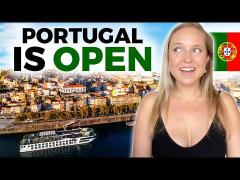 😆Portugal is OPEN! How to Travel to Portugal in 2021 ➡️🇵🇹