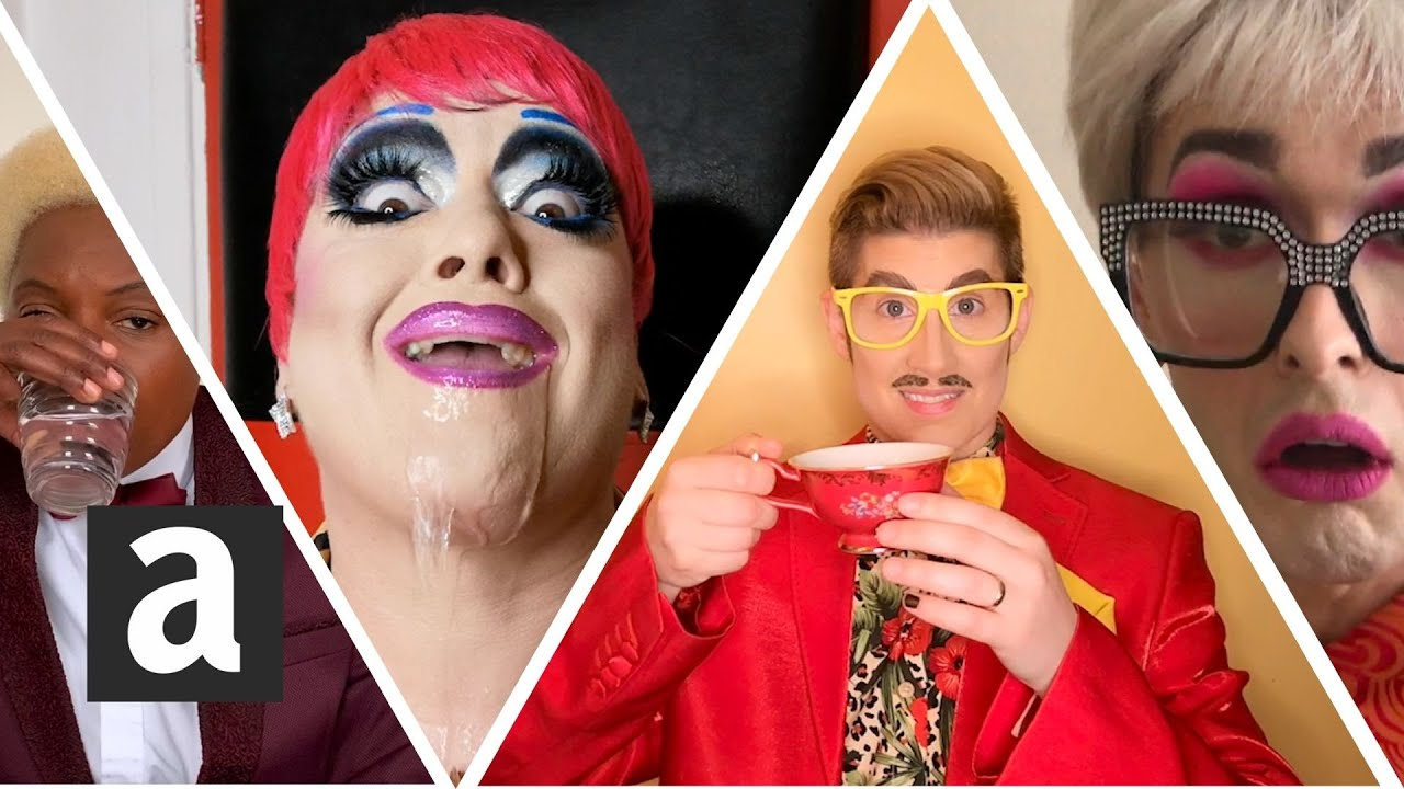 Guess the song: Drag Queens & Kings 'Gargle the song challenge' | #EurovisionQuiz