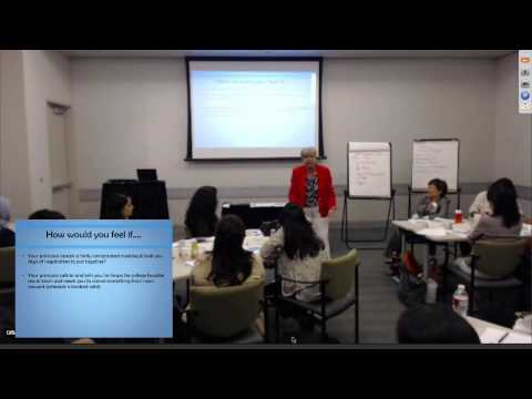Officepal Thought Leaders Training by Debbie Gross, Chief Executive Assistant, Cisco Systems