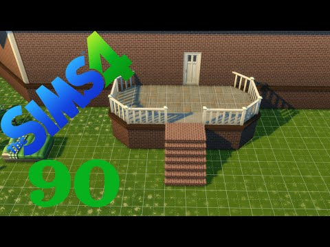 Let S Play Sims 4 90 Eine Neue Terrasse Youtube