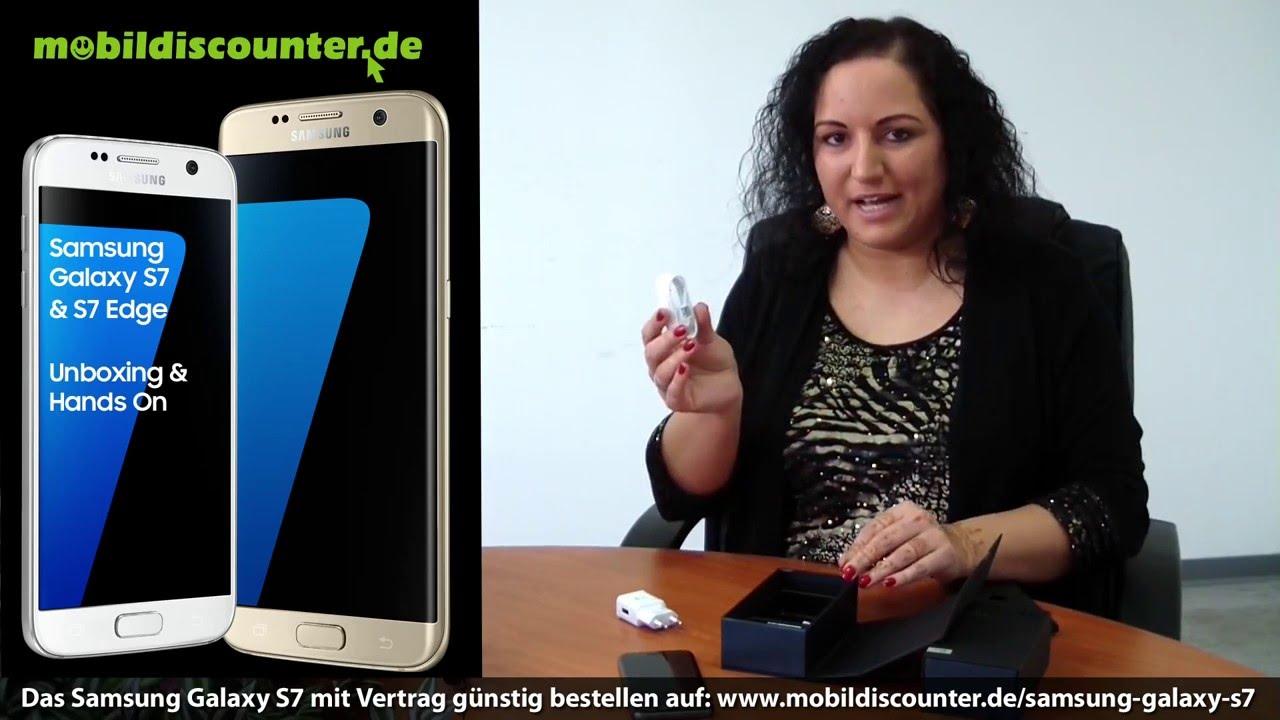Samsung galaxy s7 edge unboxing deutsch 4k youtube - Galaxy S7 Edge Samsung Galaxy S7 Unboxing Und Hands On Deutsch