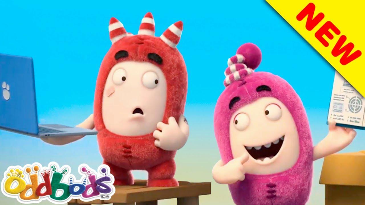 Gli Oddbods Si Sforzano Per Essere I Guru Della Tecnologia | Oddbods | Cartoni Animati per Bambini