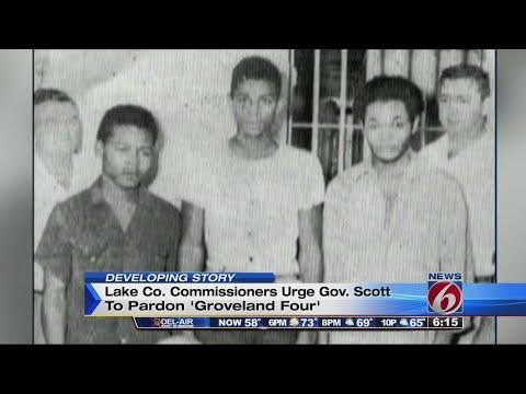 Lake County officials urge Gov. Scott to pardon Groveland Four