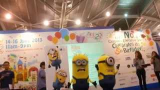 Despicable Me 2 Movie Minions Meet and Greet @Singapore Expo 2013