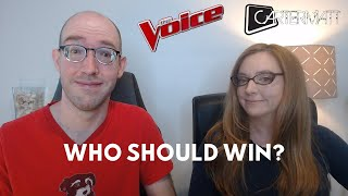 The Voice finale REACTION: Should CammWest, Thunderstorm Artis or Todd Tilghman win