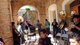 """Filarmónica Aires Oaxaqueños """"Te vas Ángel mío""""  en Talea de Castro, Oax."""