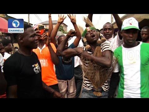 Hausa Community In Lagos Celebrates Buhari's Victory
