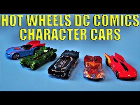Batman Die-Cast: Hot Wheels 1:64 scale DC Comics Character Cars Collection Review