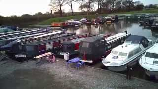 Garstang Marina (aerial from Hubsan drone 107c HD)