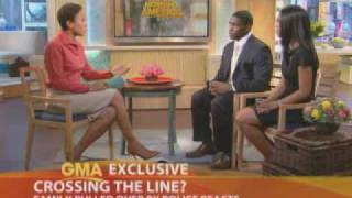 NFL Player Ryan Moats and Wife talk to Good Morning America