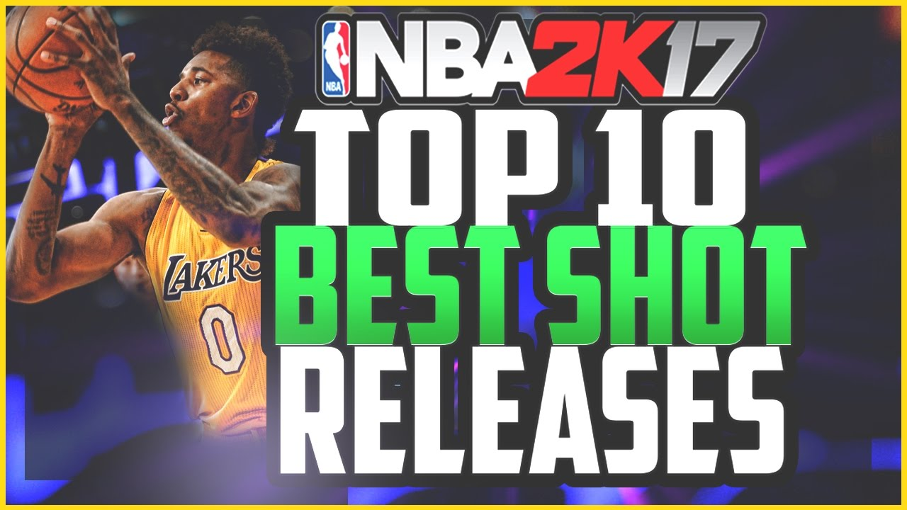 NBA 2K17 TOP 10 BEST SHOT RELEASES!