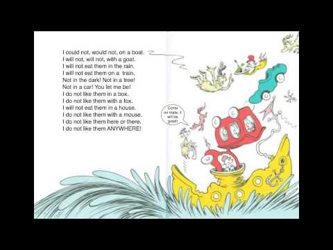 green eggs and ham story