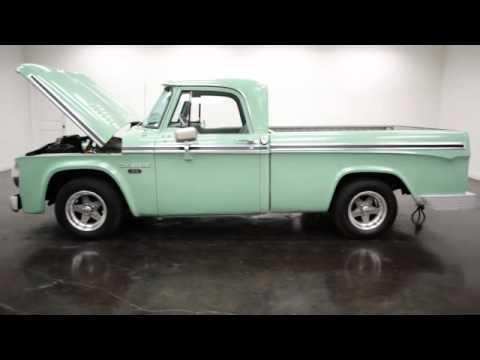 1965 Dodge D100 Sweptline Pickup 440 Bigblock V8 Youtube