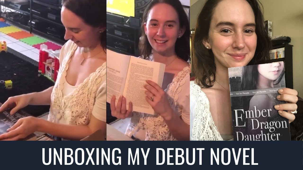 That Feeling When... You Unbox Your Debut Novel