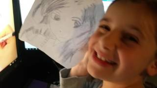 Aspen Shares Some of Her Drawings