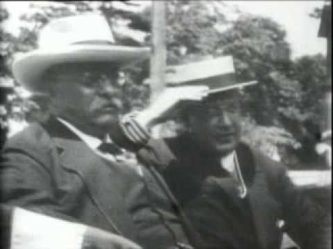 Theodore Roosevelt Attends His Son Archies Wedding At Boston In